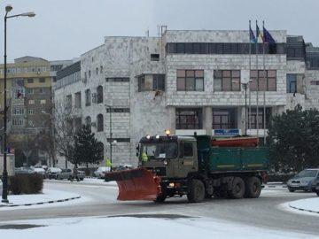 Първият сняг не създаде големи затруднения в Гюргево