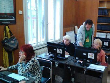 """Проведе се първото за 2018 г. обучение по начална компютърна грамотност в Регионална библиотека """"Любен Каравелов"""" - Русе"""