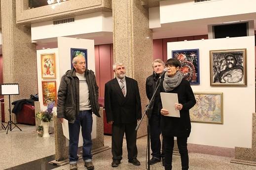"""В Русе се състоя откриването на изложба живопис """"Зад кулисите"""""""