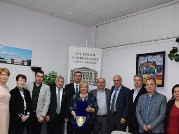 Русенския университет и Военноморската академия – Констанца