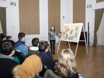 Шестокласници от ПМГ «Баба Тонка» учиха за средновековните крепости в България в РИМ - Русе