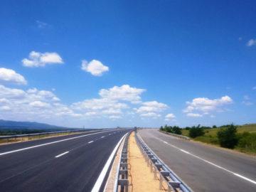 магистрала път асфалт лято