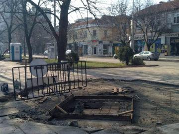 ремонт алея булевард цар освободител 1