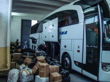 254 фалшиви парфюма и обувки задържаха на Дунав мост 1