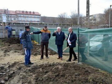 блок за медицински специалисти в Гюргево