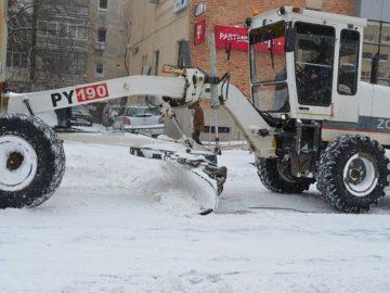 Гюргево сняг почистване