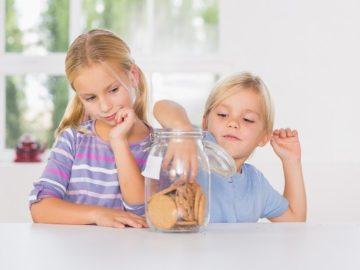 деца хапване храна