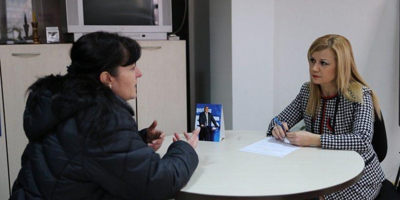 Народният представител Светлана Ангелова проведе приемна за граждани