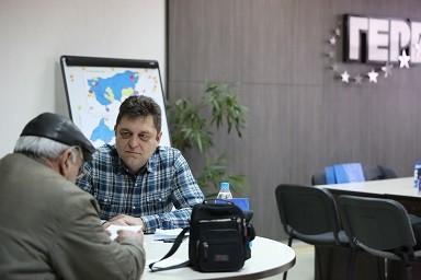 Андриан Райков проведе приемна за граждани