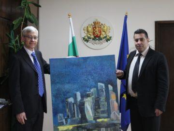 Областният управител прие новоназначения генерален консул на Руската федерация в Русе