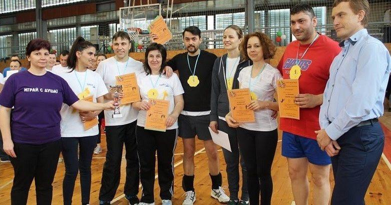 На 17 март Дойче шуле беше обединено от спортен дух