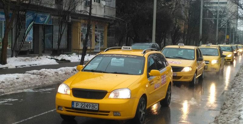 таксита протест русе 2018 2