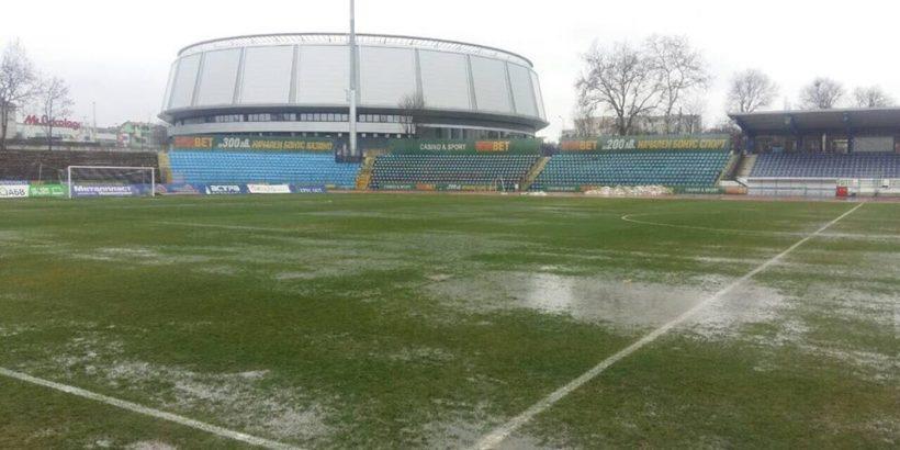 Градски стадион терен наводнен