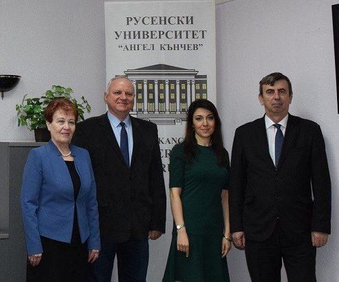 Сътрудничество между Русенския университет и висши училища от Азербайджан