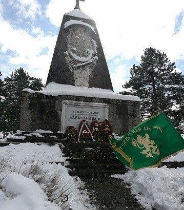 паметник освобождение Мечка