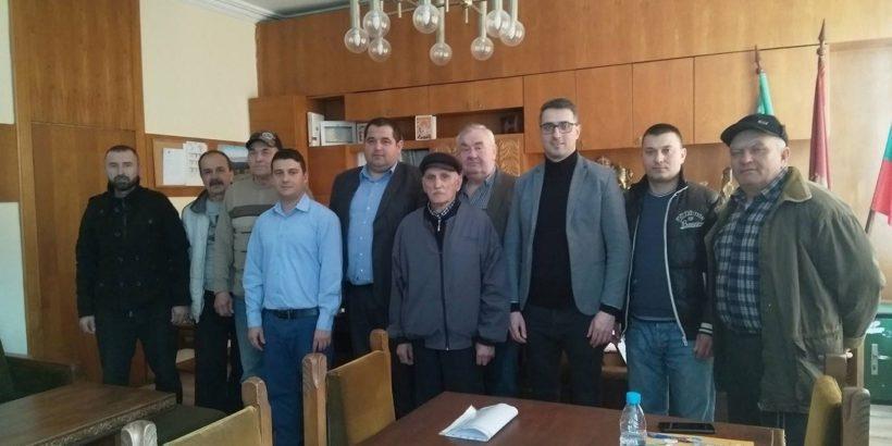 Районният мюфтия на Русе проведе работна среща с кмета на град Ветово