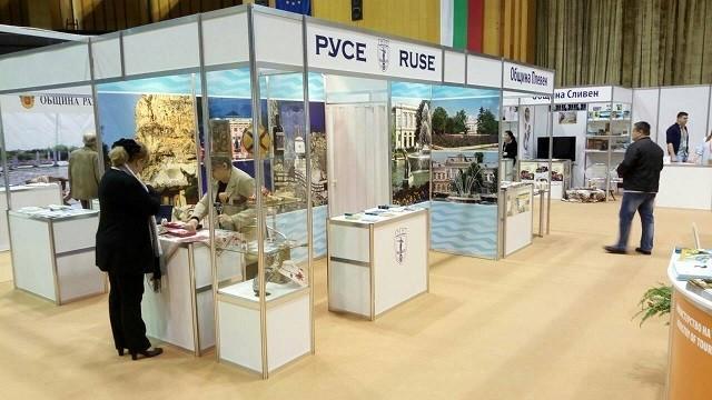 """Община Русе се представя на международното изложение """"Културен туризъм"""" - Велико Търново"""