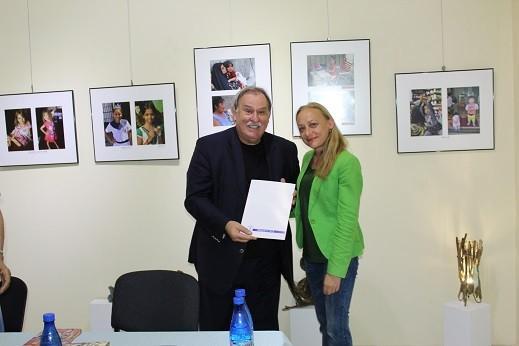 Генералният директор на БТА представи в Русе новата си книга