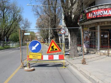 ремонт тротоари цар освободител
