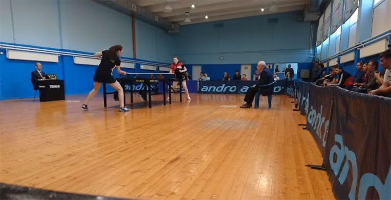 тенис на маса жени дунав русе