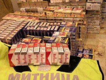 Незаконен износ на 3570 кутии цигари предотвратиха митнически служители на ГКПП-Дунав мост 1