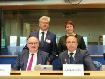 Бюрхан Абазов участва в среща на Комисията по земеделие и развитие на селските райони с националните парламенти в Брюксел