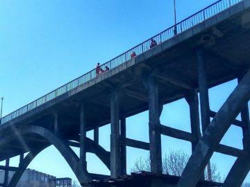Започна частичен ремонт на дъговия мост в Русе