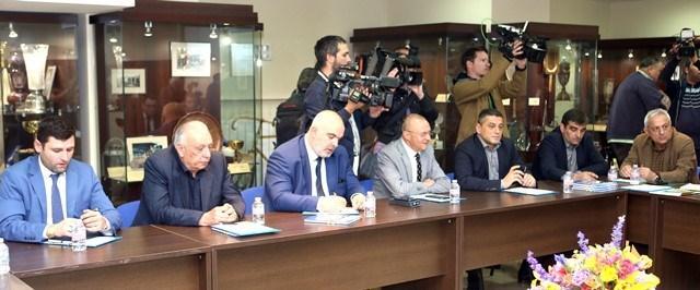 Пламен Нунев участва в работно заседание