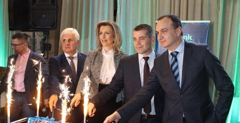 20 години от създаването си отбеляза клонът на Първа инвестиционна банка в Русе