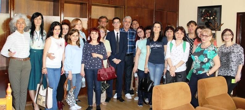 Експерти от Окръжен съвет - Гюргево участваха в наставническа програма в Областна администрация - Русе