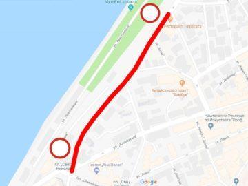 ограничение на движението по бул Придунавски
