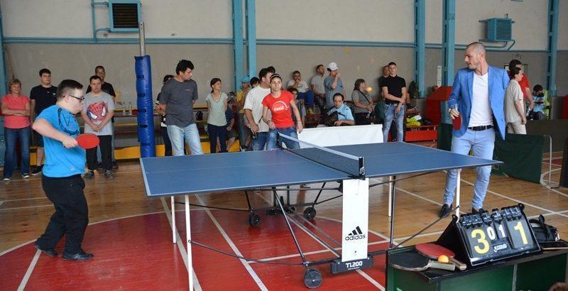 тенис на маса за хора с увреждания