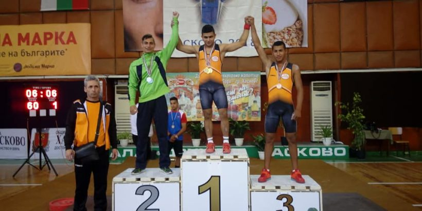 Седем златни медала за ТСК - Русе на държавното лично първенство