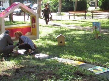 """Безплатен детски музикален кът за игра има вече в двора на УМБАЛ """"Канев"""" - Русе"""