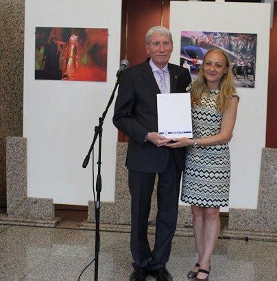 Зам. - кметът Наталия Кръстева присъства на откриването на изложба на Евгени Станимиров в Русе