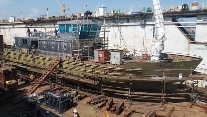 кораб ремонт