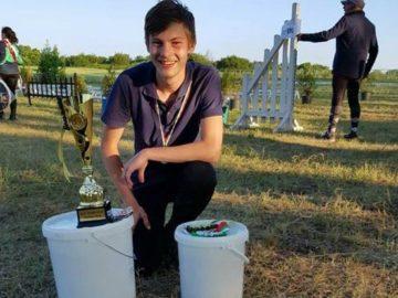 """2-ро място и награда """"Best condition"""" спечели Адриан Байерл на турнир по издържливост в Шумен"""