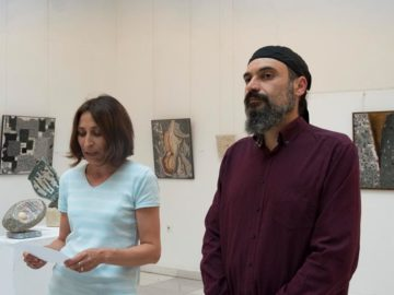 """В Художествена галерия - Русе беше открита изложбата на Страхил Найденов """"Мозайка"""""""