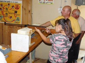 В Щръклево се състоя ученически конкурс за стрелба с въздушна пушка