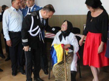 Столетница от гюргевско село уважена от служителите на реда в Гюргево