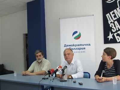 Председателят на ДСБ Атанас Атанасов предвижда от Русе предсрочни избори догодина