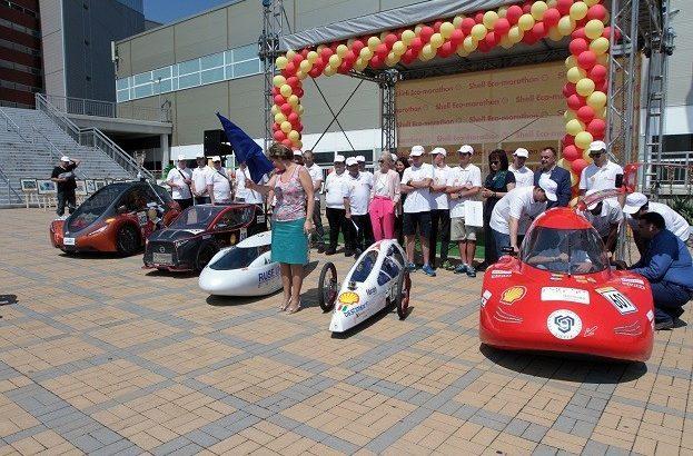 Българските отбори в Shell Eco-marathon Европа 2018 и техните автомобили бяха представени на специално събитие