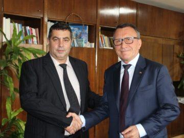 Вицепремиерът на Румъния Паул Станеску се срещна с областния управител Галин Григоров