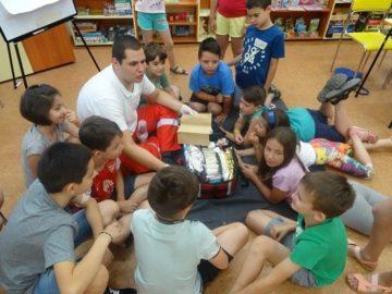 Участници в Академия за малчугани се срещнаха с активисти на Български младежки червен кръст