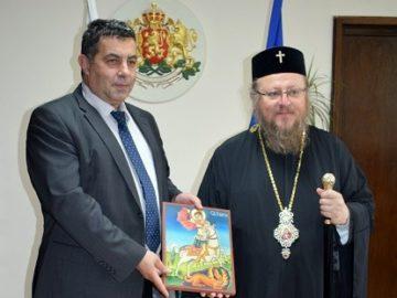 Русенският митрополит Наум се срещна с областния управител Галин Григоров