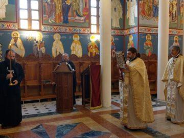 В Басарбовския манастир почетоха паметта на Варненския и Великопреславски митрополит Кирил