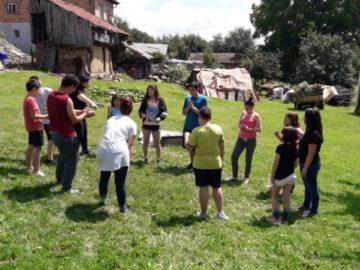"""Децата от център """"Том Сойер"""" на тридневен летен лагер в Трявна"""