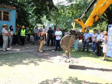 """Състоя се първа копка за основния ремонт на детска градина """"Пинокио 2"""""""