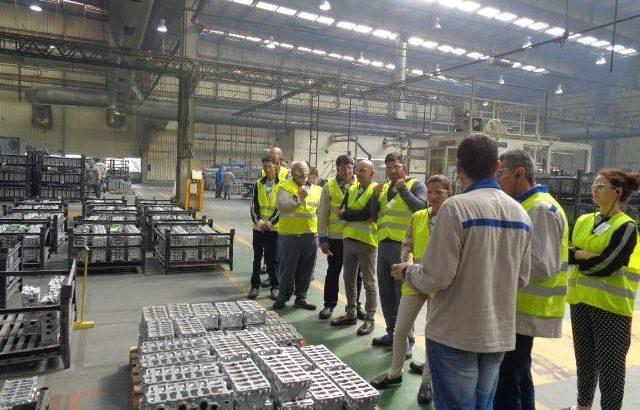 На 4 юли заводът на Монтюпе беше домакин на първата група от 10 румънци, търсещи кариерно развитие в България