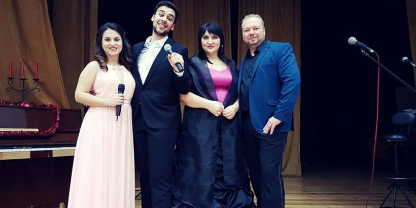 """Квартет """"Аморе"""" с концерт в Канев център на 26 септември"""